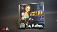 Tomb Raider III 3 Game PlayStation One PS1 GC PAL FAST AND FREE UK POSTAGE