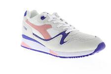 Diadora V7000 Premium 161998-C6604 Mens Gray Suede Low Top Sneakers Shoes