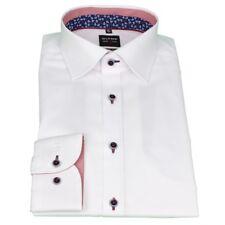 Olymp Men's Body Fit Shirt Level 5 White Plain 2100 34 00