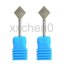 Nail Art Drill Bits 10*10MM Head Gel Remove Polish Diamond Coated Rotary Tools