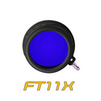 Klarus FT11X  41mm Blue High Quailty Flashlight Lens Filter Diffuser For XT11X