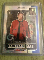 2019-20 NBA Hoops Premium Stock Luka Doncic Backstage Pass Silver Holo Prizm #3