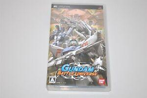Gundam Battle Universe Japan Sony PSP game