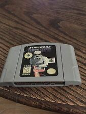 Star Wars: Shadows of the Empire Nintendo 64 N64 Game Cart Works Well NE5