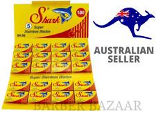 Shark Super Stainless Double Edge Razor Blades | AUS SELLER