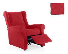 Funda de sillon relax Mercurio Rojo