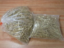 """Huge Lot of Brass 2"""" Bobby Hair Accessory Pins with Loops Clips Findings Blanks"""