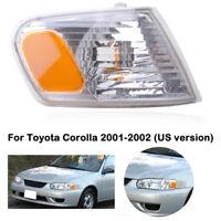 Fits 2001-2002 Toyota Corolla Corner Light Turn Signal Lamp Right Passenger Side
