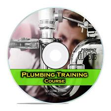 Plumber Journeyman Training Course Class, Plumbing How To Manual, Diy Cd G99