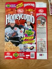 "1995 (Post) ""Honeycomb "" (WAYNE GRETZKY) {UPPER DECK HOCKEY CARDS} Cereal Box"