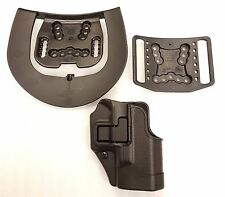 Blackhawk Serpa CQC Concealment Right Hand Holster Glock 26 27 33 - 410501BK-R