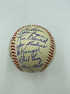 Stunning Tom Seaver Rookie Era 1968 New York Mets Team Signed Baseball JSA COA