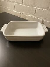"""Le Creuset 15-10 5""""X7"""" White Baking Dish - Used once - Great condition!"""