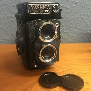 Yashica 124G medium format camera lovely condition plus case