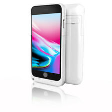 Indigi 4000mAh - White Rechargeable External Battery Case for iPhone 8 Plus