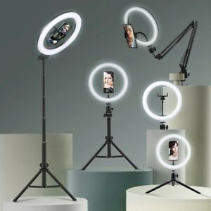 Selfie Ring Light Photography Tripod For Phones Mobile Phone Holder Tripod Stand