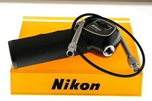 Nikon Pistol Grip 2 with AR-6 Remote Release Cable. In EXC++ condition.