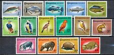 GUYANA - South America - NATIVE FAUNA OF GUANA - MNH SET OF 15 STAMPS     Hk610g
