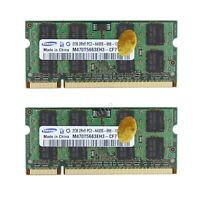 4GB Lot 2x 2GB PC2-6400 DDR2-800Mhz PC Laptop Memory Ram 200Pin 1.8V Für Samsung