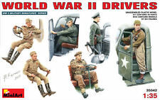 WORLD WAR II DRIVERS (U.S., BRITISH/COMMONWEALTH, GERMAN & SOVIET) 1/35 MINIART