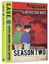 Case Closed . Season Two . 2. Staffel . Detektiv Conan . Anime . 4 DVD . NEU