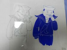 CRACKER JACK Production Pencil Drawing & Hand Painted Animation Cel 3A 20