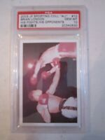 2003 MUHAMMAD ALI JP SPORTING COLL. #10 BOXING CARD PSA GRADED 10 GEM MINT