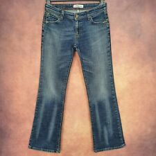 Ladies LEVIS 572 BOOT CUT Blue Denim Stretch Low Waist Jeans Size 30X30