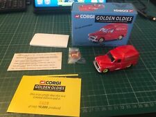 CORGI 06502 GOLDEN OLDIES MORRIS 1000 VAN 'NESTLES' & BADGE 0628/10,000 - BOXED