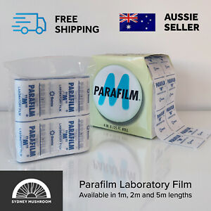 "New Parafilm M Laboratory Film 10cm / 4"" wide, Length 1m, 2m, 5m, 10m"