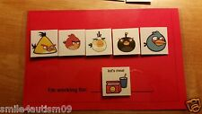 Red Token System ABA Behavior Visuals Reinforcer for Autism Angry Bird PECS