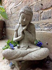 Buddha Garden Statues Lawn Ornaments For Sale Ebay