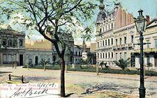 Argentina Buenos Aires Plaza San Martin y Monumento Falucho 04.96