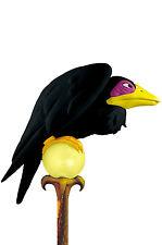Brand New Pet Crow Maleficent Staff Costume Accessory