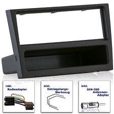 Opel Corsa C Vectra combo Agila Omega B radio diafragma instalación marco adaptador ISO