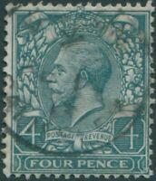 Great Britain 1912 SG378 4d deep grey-green KGV FU