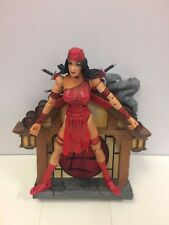 "Marvel Legends 7"" Elektra Figure Toy Biz 2003"