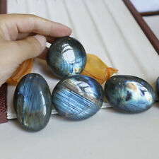 Natural Crystal Moonstone Polished Quartz Labradorite Ore Specimen Stone Healing