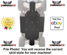"UMHW Tusk Quiet-Glide Skid Plate 3/8"" - Fits: Arctic Cat WILDCAT TRAIL 700"