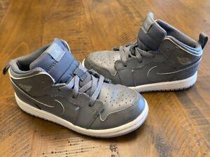 Nike Air Jordan Retro Mid TD 'Cool Grey' - 640735-031 - Toddler's Size 10C