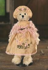 Teddy Bear 'Destiny' Settler Bears Handmade Collectable Gift Dress 30cms NEW