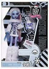 NEW MONSTER HIGH DOLL  Abbey Bominable Daughter of Yeti with SHIVER first wave