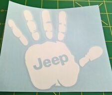 Jeep Wave - Jeep Logo - Vinyl Decal for Jeep
