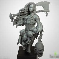 1/10 Resin Figure Bust NORTHERN WIND Female Warrior Unpainted Unassembled 4431