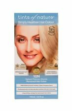 Tints of Nature Organic 10n Natural Platinum Blonde Permanent Hair Colour 130ml