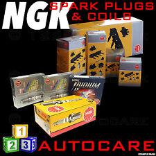 NGK SPARK PLUGS & Bobina Di Accensione Set DCPR7E-N-10 (4983) x4 & U2006 (48025) X1