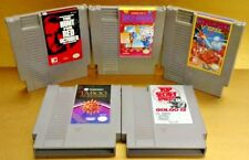 Red October Taboo V' Ball Golgo 13 Shooting - Nintendo NES Game Tested Authentic
