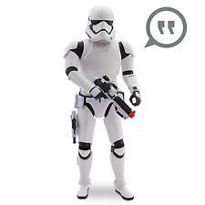 "14"" TALKING STORMTROOPER Action Figure Star Wars The Force Awakens Disney Store"