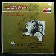 Soundtrack - Man Of A Thousand Faces LP VG+ DL 8623 1st Press Vinyl Record
