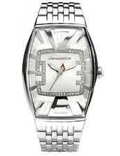 Chronotech orologio donna acciaio quadrante silver con pietre ct 7019LS 06M